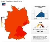 Aujourd'hui en milieu de journée, les panneaux solaires allemands fournissaient autant d'électricité que 26 réacteurs nucléaires - ddmagazine.com   Contexte énergétique   Scoop.it