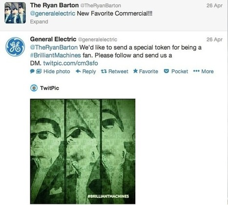 How General Electric uses Facebook, Twitter, Pinterest and Google+   social marketing & communication   Scoop.it