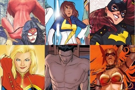 The Marvel/DC Rivalry Finally Extends To Winning Female Fans | Ladies Making Comics | Scoop.it