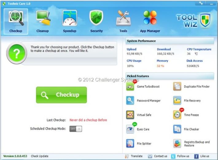 """Toolwiz Care 1.0.0.453   Veille Techno et Informatique """"AutreMent""""   Scoop.it"""