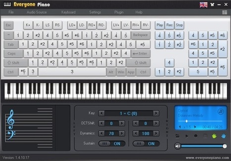 EVERYONE PIANO: Software gratis para aprender a tocar piano ~ Juegos gratis y Software Educativo | Aprendiendo a Distancia | Scoop.it