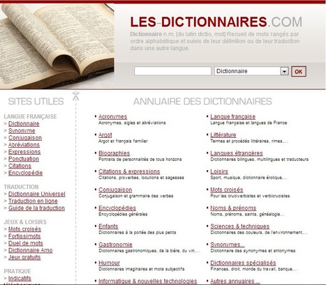 Tous les dictionnaires utiles au même endroit | What tool to use for your final project in ESL classes. | Scoop.it