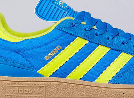 adidas Skateboarding Busenitz – Bluebird – Lab Lime - Sneaker News | baskets et street wear | Scoop.it