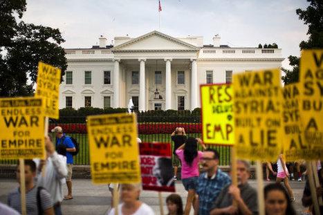 Sondage: l'opinion publique U.S. défavorable à une intervention en ... | marketing | Scoop.it