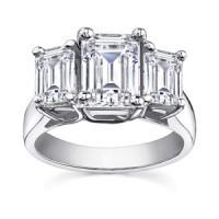 Three Stone Anniversary Rings | Diamondsafe | Scoop.it