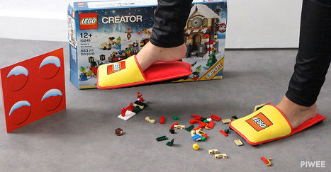 LEGO Creates Anti-LEGO Slippers To End 66 Years Of Horrible Pain   levin's linkblog: Pop Culture Channel   Scoop.it