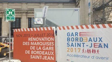 Bordeaux : les travaux reprennent à la Gare St-Jean   Projets urbains sur Bordeaux   Bordeaux Belles Maisons   Scoop.it
