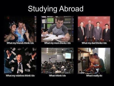 Studying Abroad | What I really do | Scoop.it