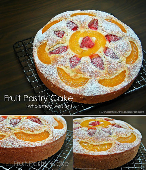 Happy Home Baking: Fruit Pastry Cake   otero pastry   Scoop.it