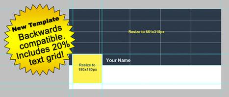 Photoshop Templates for Facebook's Timeline Redesign | Facebook Marketing Essentials | Scoop.it