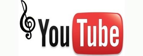 YouTube veut concurrencer Deezer et Spotify | Camsid | Scoop.it