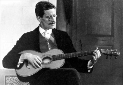 Restoration of guitar played by James Joyce | The Irish Literary Times | Scoop.it
