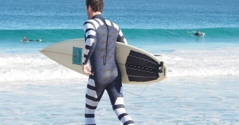 World's First Anti-Shark Wetsuits Protect Surfers and Divers From Deadly Attacks | Semiotic Adventures with Genetic Algorithms | Scoop.it