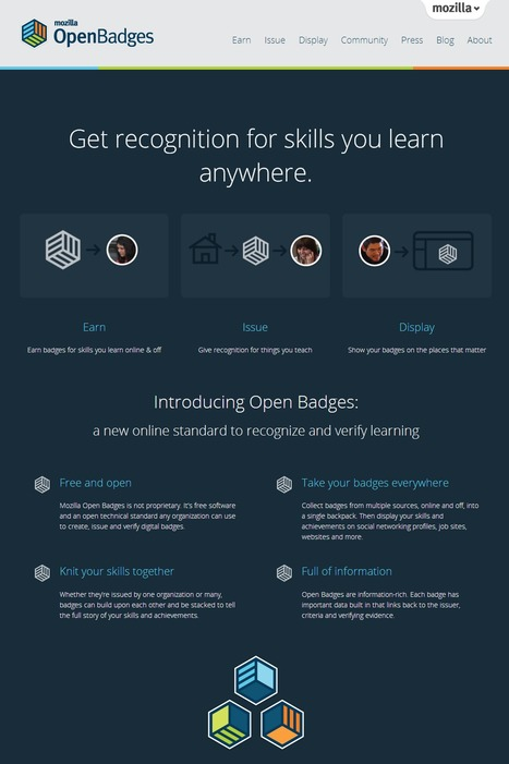 Open Badges : Get recognition for skills you learn anywhere. | Time to Learn | Scoop.it