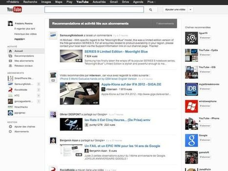 Comment activer la nouvelle interface de YouTube ? | Youtube Tips | Scoop.it