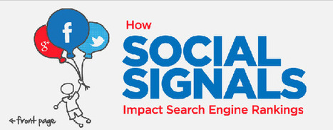 Infographic of the week: How are Social Signals Influencing the Search Engine Rankings? - Search, Social News PageTraffic Buzz   Galway Public Libraries   Scoop.it