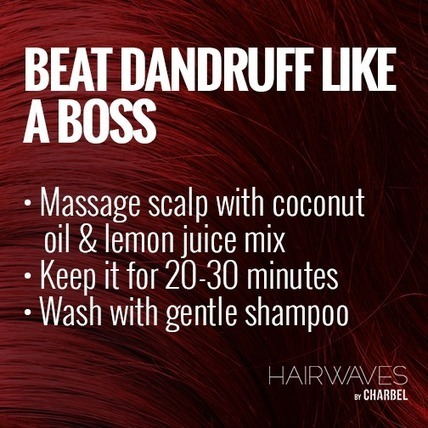 Beat dandruff like a boss | Latest And Trendiest Hairstyling Techniques | Scoop.it