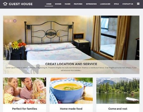 JM Guest House Joomla Template for Hostel & Accommodation | Premium Joomla Templates | Scoop.it