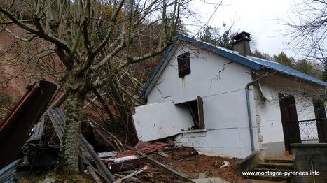 Intempéries : éboulements de terrain en basse vallée d'Aure | Vallée d'Aure - Pyrénées | Scoop.it