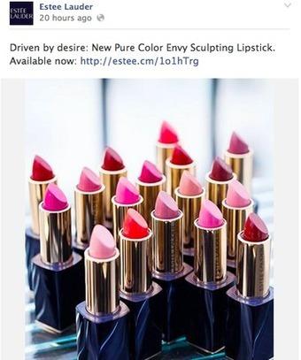 Estée Lauder encourages interaction with digital lipstick boutique | We love Marketing | Scoop.it