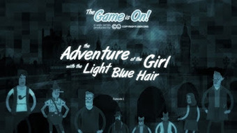 Girl with the Light Blue Hair scoops award with educational copyright film | Digital rights | Scoop.it