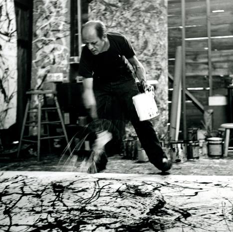 Jackson Pollock, el accidente controlado « Cultura Colectiva   inspirArte   Scoop.it