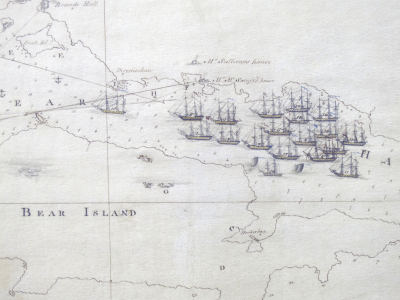 Mapping History: A depiction of the Royal Navy at Bere Island in the early 1800s | Heathers Scoop | Scoop.it