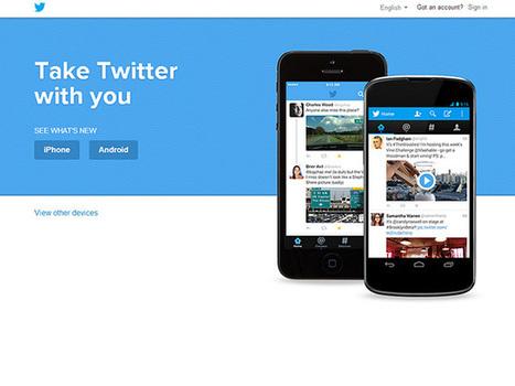 Twitter : une nouvelle version du portail web en cours de test | Geeks | Scoop.it
