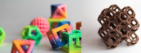 New 3D Printers Can Print Sweets With Futuristic Shapes | 3d Printed Food | Scoop.it