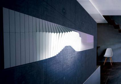 Mur lumineux Flowall par Jiel Park   CRAW   Scoop.it