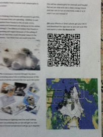 Adding QR codes to bulletin board displays - Grade 7 | QRCodes: In the Classroom | Scoop.it