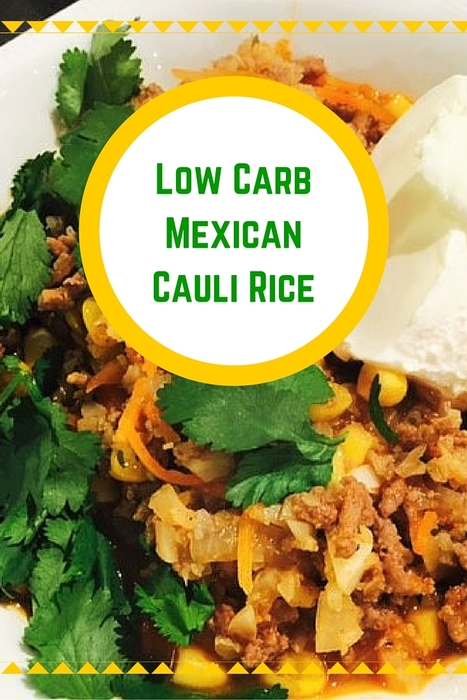 Mexican Cauli Rice | Best Easy Recipes | Scoop.it