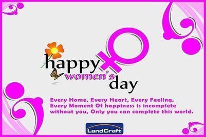 Happy International Women's Day!... - Landcraft Developers   Facebook   GolfLinks in NH 24 Ghaziabad and River Heights in NH 58 Raj Nagar Extn Ghaziabad   Scoop.it