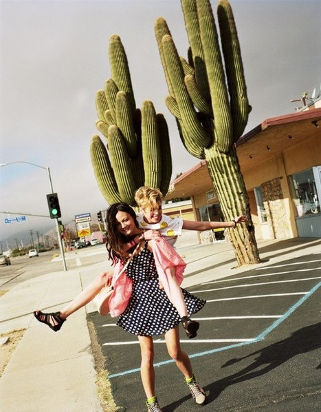 Rachel Rutt and Stella Maxwell Go on the Road for Urban Outfitters' Festival Lookbook | Festivals | Scoop.it