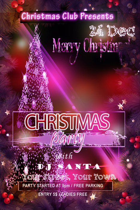 15+ Best Free Christmas Flyer Templates | Designer's Resources | Scoop.it