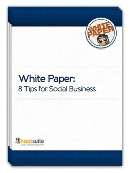 HootSuite White Paper: 8 Tips to Social Success | Time to Learn | Scoop.it