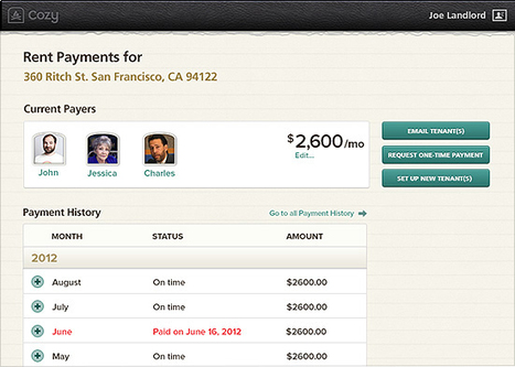 Cozy raises $1.5 million to make the landlord life a little easier | Startup Ideas | Scoop.it