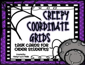 Halloween Math Center:  Creepy Coordinate Grids for Older Students | Digital Sandbox | Scoop.it