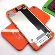 Orange Battery Cover,back Glass Housing, Rear Battery Back Door for Iphone 4s Only | Hot deals on dadawireless | Scoop.it