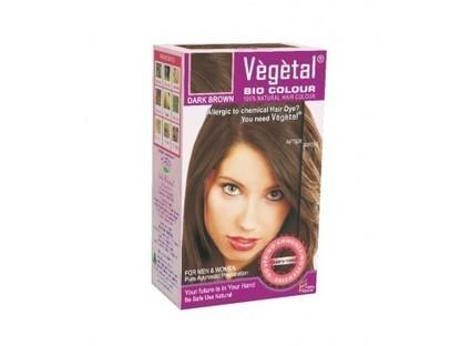 Buy Vegetal Bio Hair Colour (Dark Brown) Online | Herbal and Natural Hair Color | Scoop.it