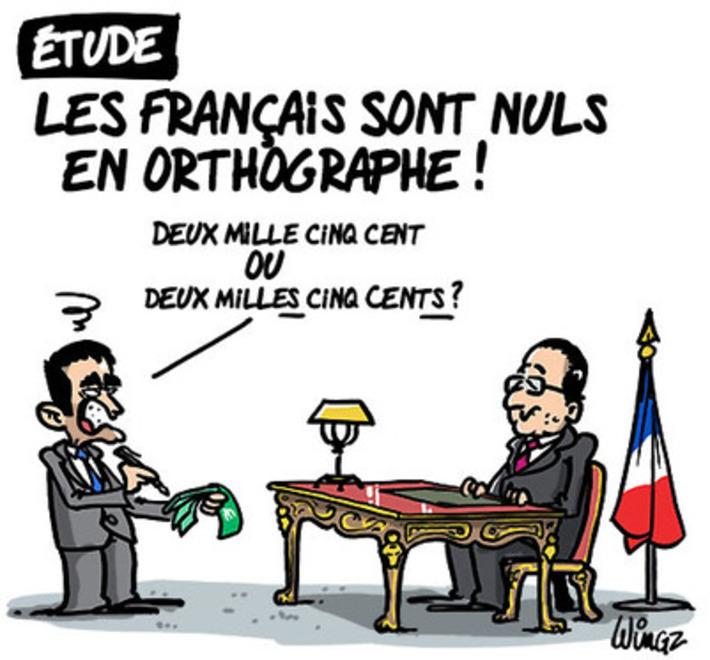 Les français sont nuls en orthographe | Baie d'humour | Scoop.it