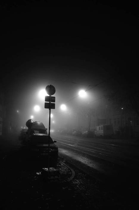 #Photographie : Mysterious Black and White Urban Scenes in the Fog | Photographie, d'ailleurs! | Scoop.it