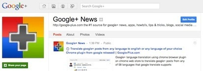 How to hide or remove photos and videos tab from profiles and Google+ pages? | GooglePlus Expertise | Scoop.it