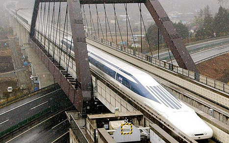 Japan's magnetically levitated vehicle train sets new speed record   Discover Sigalon Valley - Where the Tags are the Topics   Scoop.it