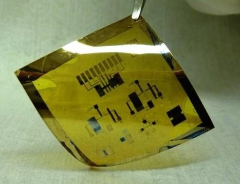 Circuitos electrónicos flexibles como cartulina gracias a nanocristales | Uso inteligente de las herramientas TIC | Scoop.it