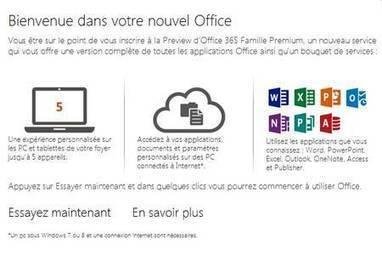 Test Microsoft Office 2013 : le point sur les nouveautés | Geeks | Scoop.it
