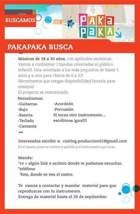 Paka Paka busca | Educación: trabajo | Scoop.it