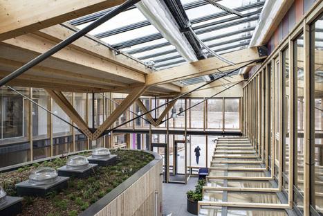 Siège de Notre Logis - Eco maison bois | Références | Scoop.it