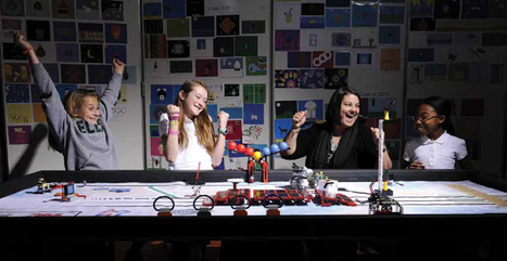 Robotics Projects Encourage Girls to Engage in STEM | Tech Learning | Using Technology to Transform Learning | Scoop.it
