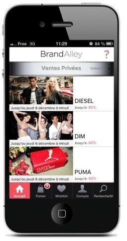 Objectif de Brandalley dans le m-commerce : 35% du CA - Altavia Watch | E-commerce, M-commerce : digital revolution | Scoop.it